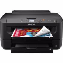 Impresora Tabloide Epson Wf 7110 + Sist De Tinta Sublimacion