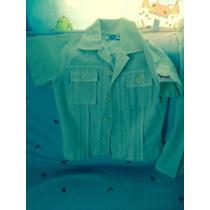 Conjunto Camisa Tipo Guayabera Y Pantalon Para Niño