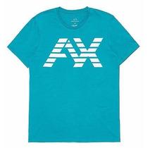 Playera Armani Exchange Ax Talla L Color Azul