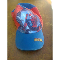 Gorra De Spiderman De Marvel Para Niño