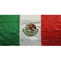 Bandera De Tela Mexico 90x40