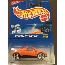 Hot Wheels Pontiac Salsa ( Colección 596, Del Año 1996)