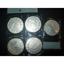Gcg Lote De 5 Monedas Chinas De La Suerte Son Didacticas Fn4