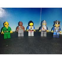 Lego Figuras Varias Medievales Caballeros Rey Bandido Etc Js