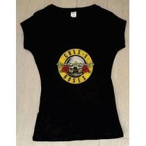 Playera Guns N Roses Dama / Caballero