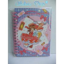 Cuaderno De Notas - Sakura Card Captor - Japones