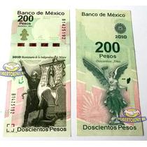 Billete 200 Pesos Bicentenario De La Independencia Nuevo!!