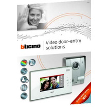 Bticino Video Portero Color 2 Hilos, Touch Screen 332151 Vv4