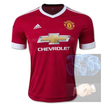 Jersey Manchester United Rojo Adidas 2016 Roja Local Playera
