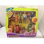 Set De Figuras De Scooby-doo Mistery-solving Crew !!!!!!
