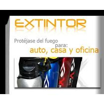 Extintor Extinguidor Tuni X Auto, Casa U Oficina 400 Ml