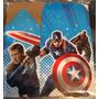 Capitán América 50 Cajas Dulceras