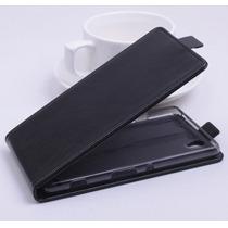 Funda Flip Vertical Premium De Lujo Para Sony Xperia C4