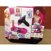 Barbie Diseño De Modas,aerógrafo De Verdad .