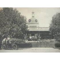 Antigua Tarjeta Postal Café Restaurant Chapultepec 1900