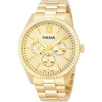Reloj Pulsar Dress Dorado