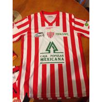Playera Necaxa Marca Atletica, Reestrenala