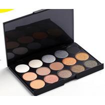 Paleta De 15 Sombras Mac * Colores Neutros*