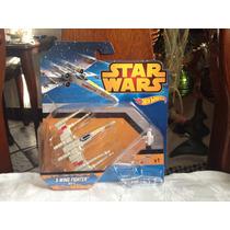 Hot Wheels Star Wars Disney X-wing Fighter Red 5 2015