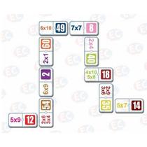 Edu-108 Dominó Multiplicación Codigo Color 28 Pzs 6+ Eduplas