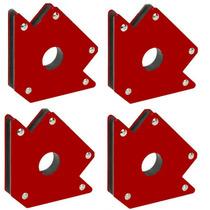Escuadra Magnetica Set De 4 Piezas Para 22 Kilos