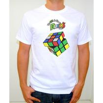 Playera Cubo De Rubik En Sublimacion De Alta Calidad