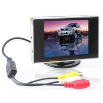 Bw 3.5 Pulgadas Tft Lcd Monitor Para El Coche / Del Automóvi