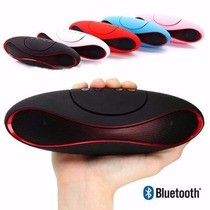 Bocina Bluetooth Mini Recargable Con Voz Usb Mini Sd