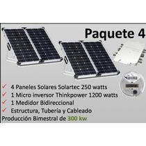 Sistema Solar 335 Kw Producción Bimestral