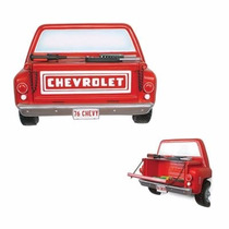 Estante Vista Trasera Camioneta Chevrolet Step Side 1976