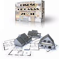 Programa Para Diseño Casas 2d 3d Crear Interiores De Hogar