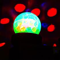 Esfera Disco Led Con Bocina Interna Entrada Usb Sd Recargabl