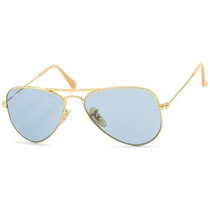 Lentes Ray Ban Aviator Rb 3044 112/62 Gold & Blue Small 52