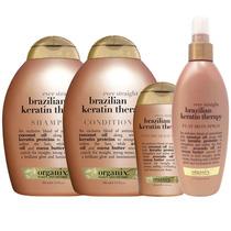 Brazilian Keratin Shampoo Conditioner Masque Terapia