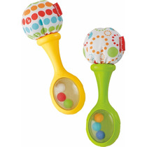 Sonajas Fisher-price Rattle And Rock Maracas Musical Toy