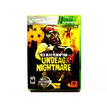 Red Dead Redemption Undead Nightmare Nuevo - Xbox 360