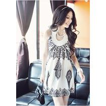 008 Vestido Corto Diferentes Colores Entallado Moda Asiatica
