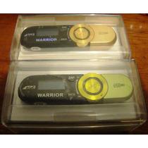 Reproductor Mp3 Recargable Warrior Tipo Usb Lee Micro Sd