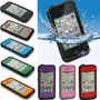 Funda Iphone 5, 5s, 4, 4s Contra Agua Sumergible Water Proof