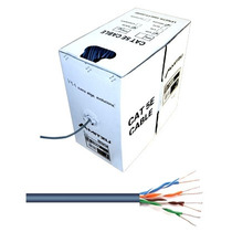 Cable Red Cat 5e Utp Bobina 305m En Caja Despachadora Mitzu