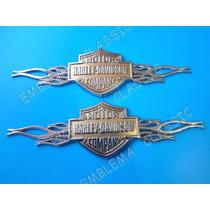 Emblemas Harley Davidson Motor Cycles Auto Camioneta Moto
