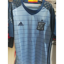 Uniforme Futbol España Visitante Eurocopa 2016