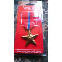 Medalla Condecoración Usa Bronze Star Estrella De Bronce