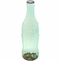 Coca-cola Large Green Tint Bottle Bank