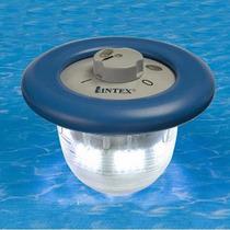 Lampara Flotante Para Alberca - Intex 20cm Recargable