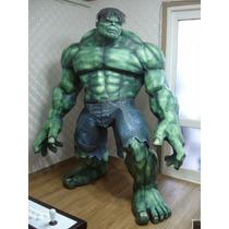 Hulk De 2 Metros Detallado (para Armar En Papel)