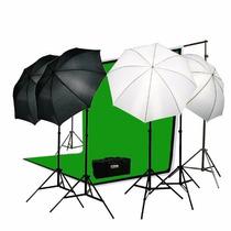 Kit Iluminacion Estudio Fotografico Fotografia Profesional