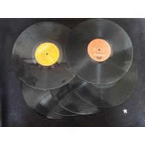 Discos De Vinilo 12 Pulgadas Para Manualidades 4 X $10