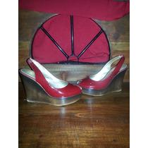 Zapatos Zapatilla Sandalia Wedge Jessica Simpson 5.5 Mex