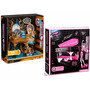 Cama Draculaura Y Tocador Cleo Monster High Paquete Remate